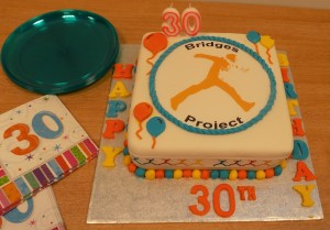 Bridges Project 30th Birthday Cake